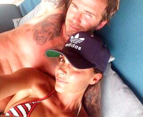 Victoria Beckham twitpic