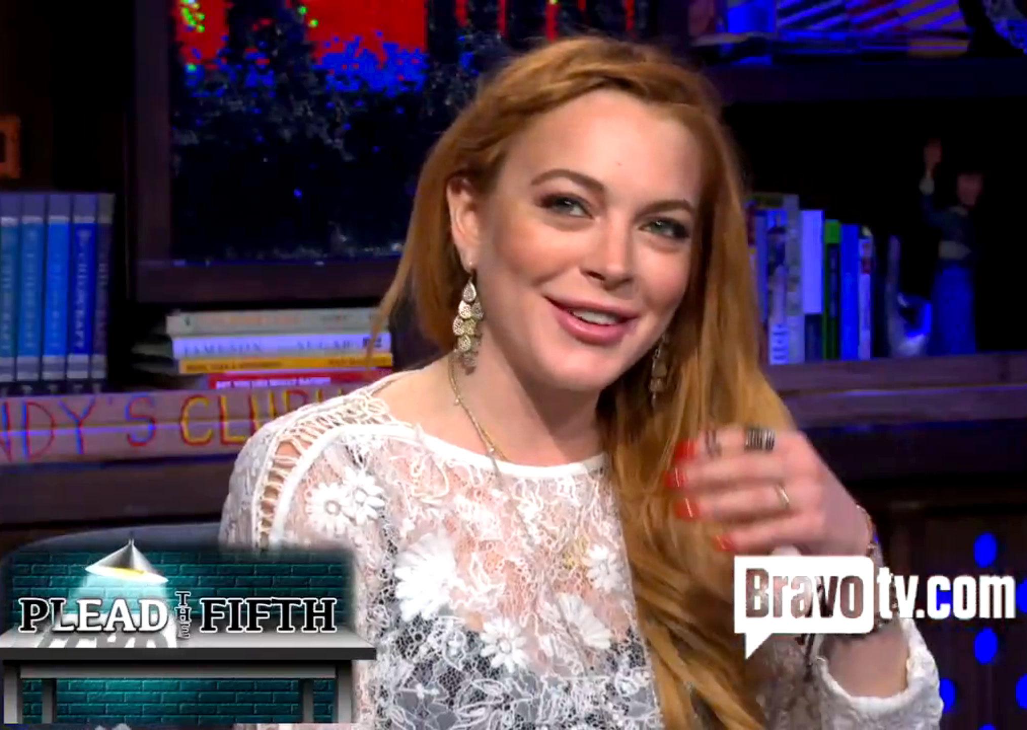 Lindsay Lohan Watch What Happens Live