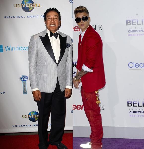 Smokey Robinson Justin Bieber