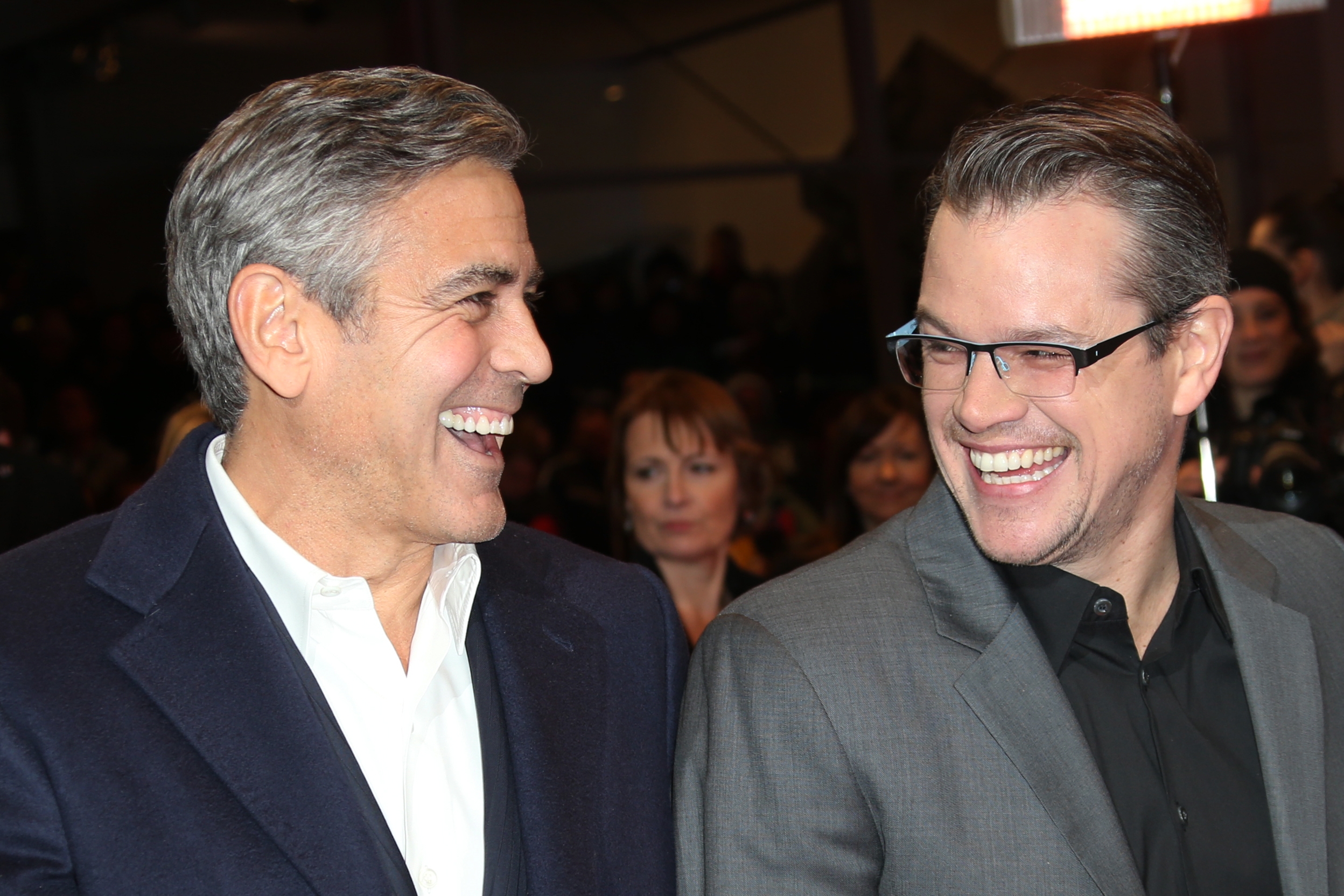 Matt Damon won't advise George Clooney when it comes to his twins