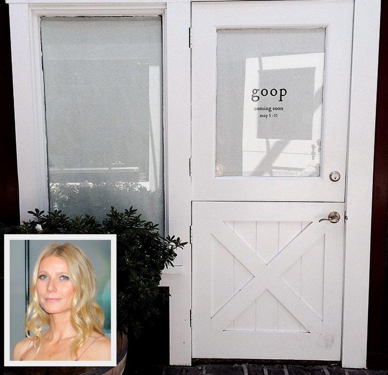 Gwyneth Goop Popup