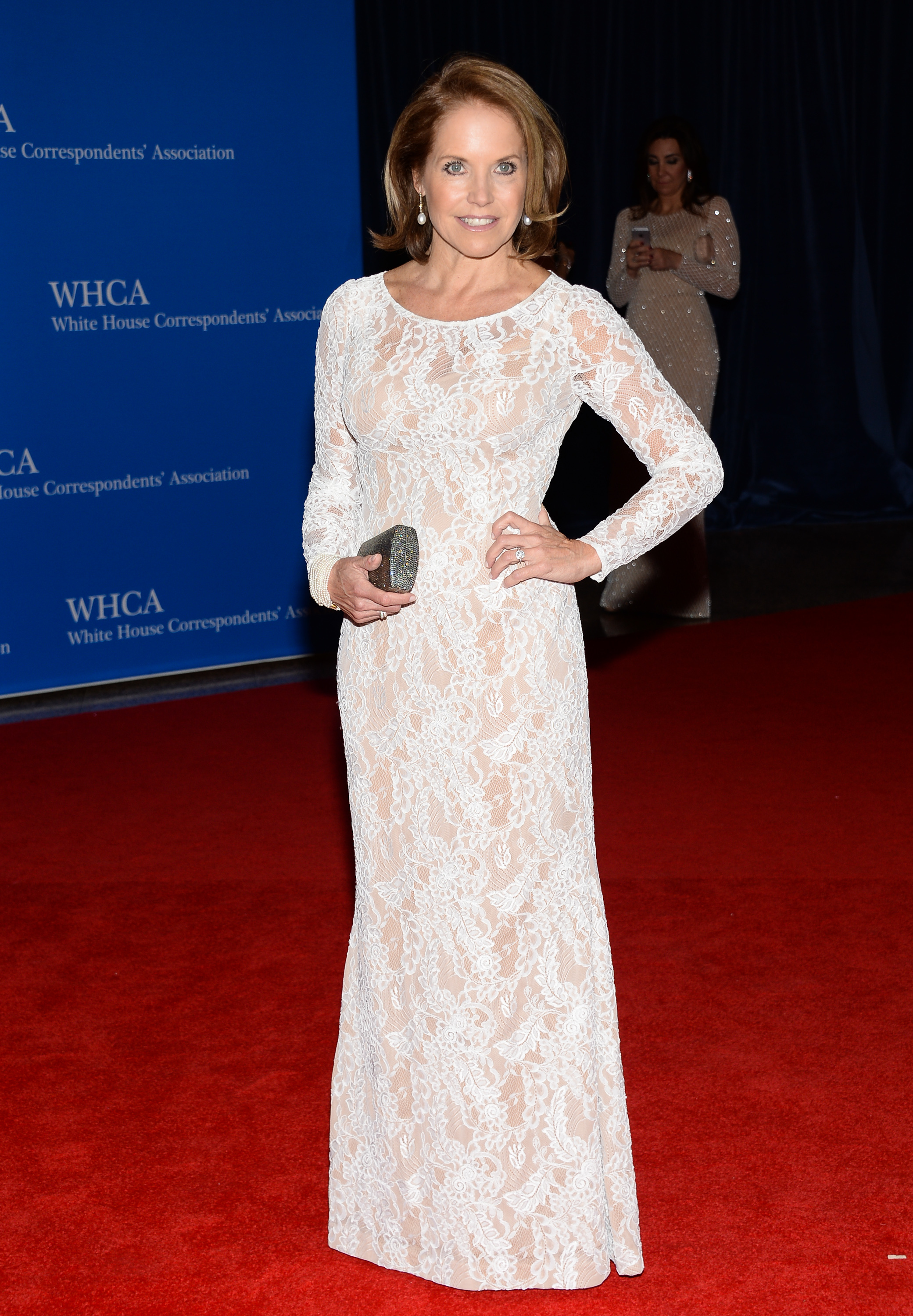 Katie Couric white house correspondent dinner