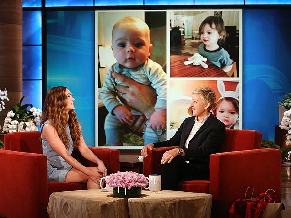 megan fox ellen shares photos of sons