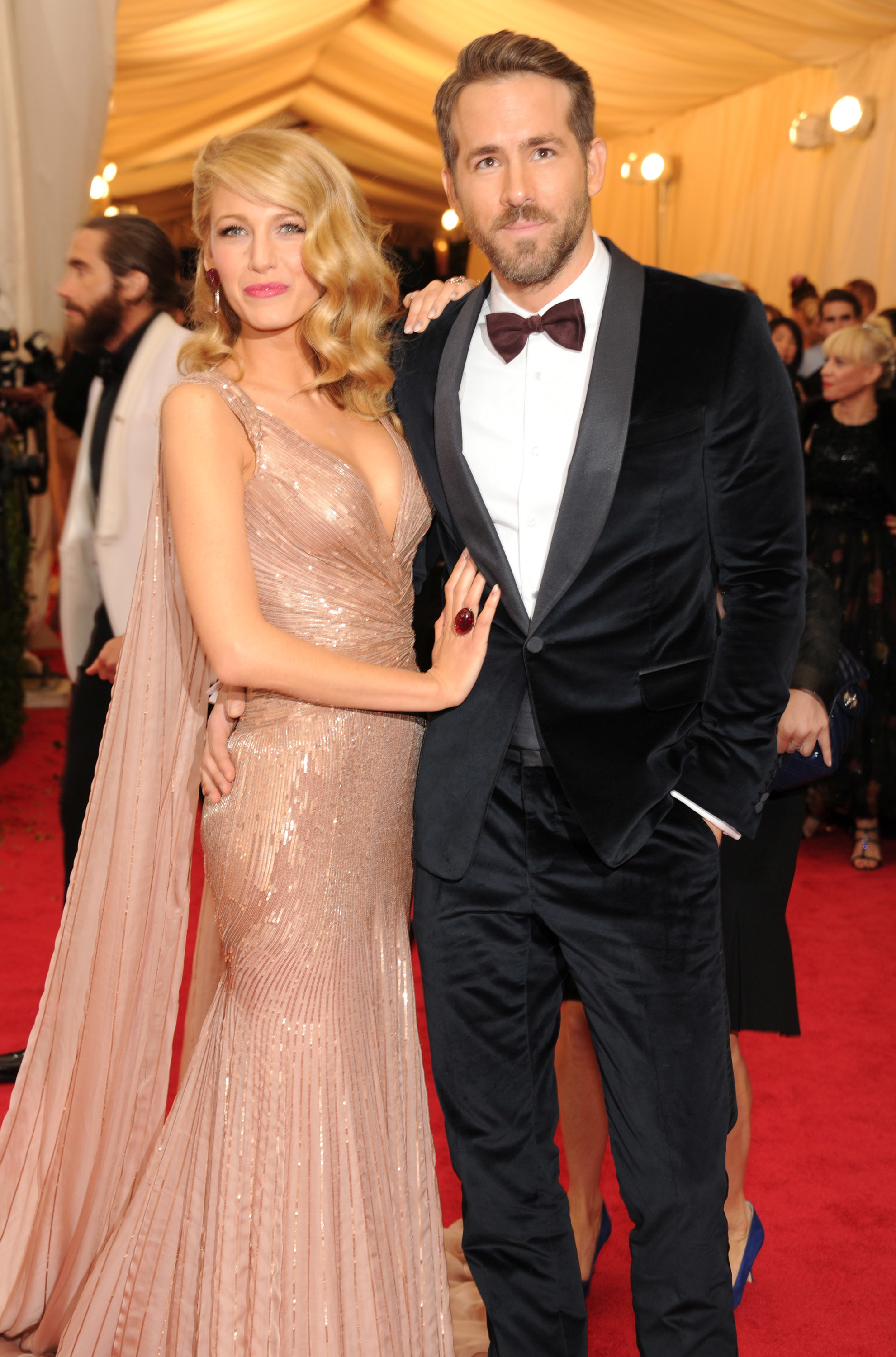 Ryan Reynolds jokes about Blake Lively's 'kung fu' pre red carpet routine