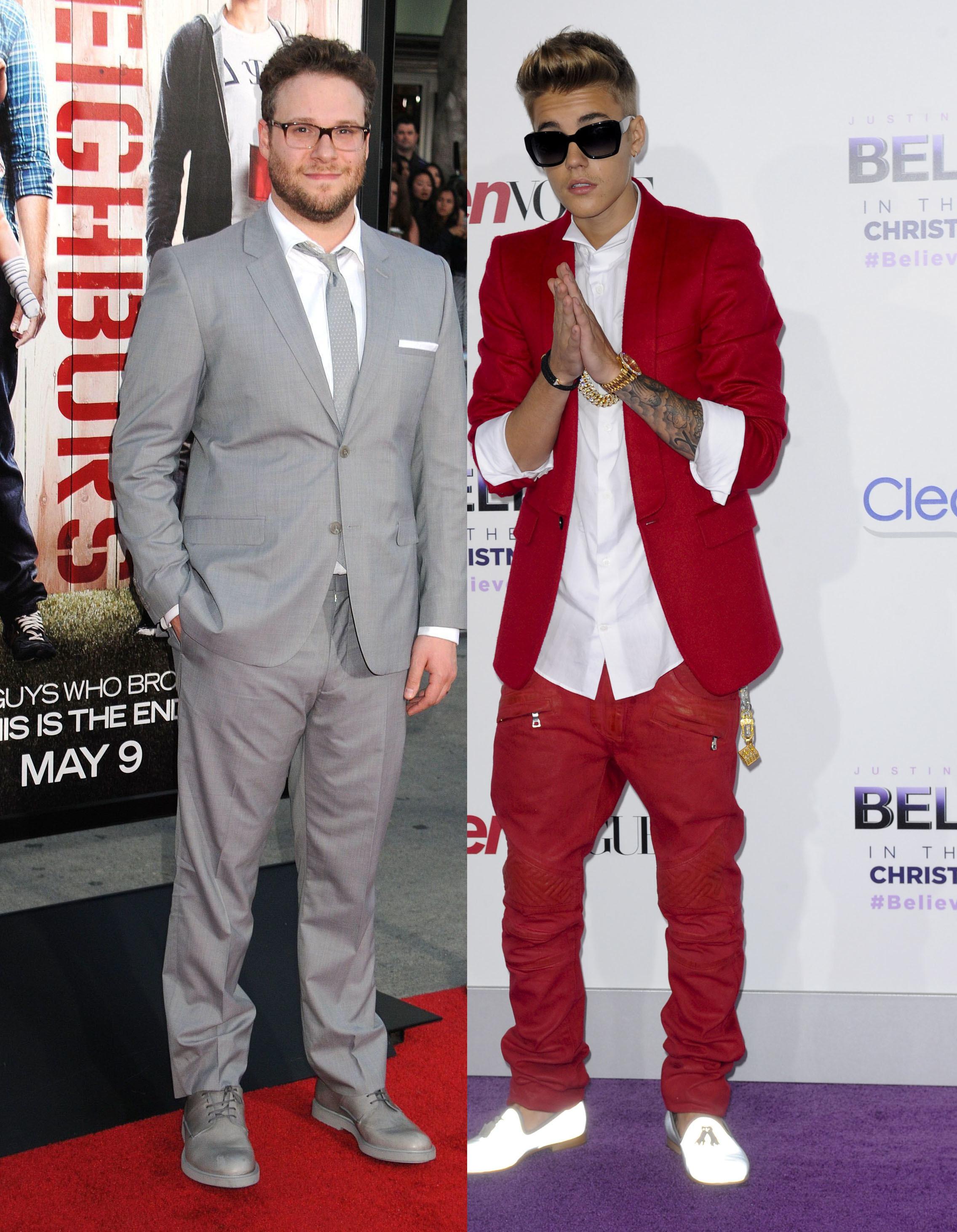 Justin Bieber vs Seth Rogen