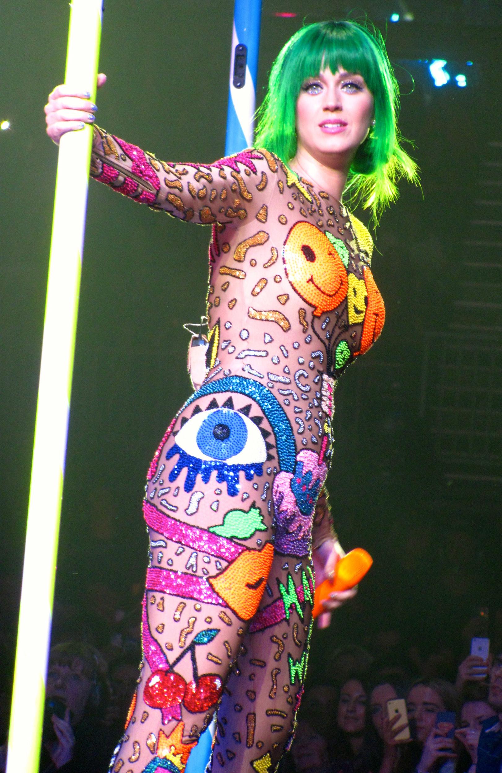 katy perry tour costume