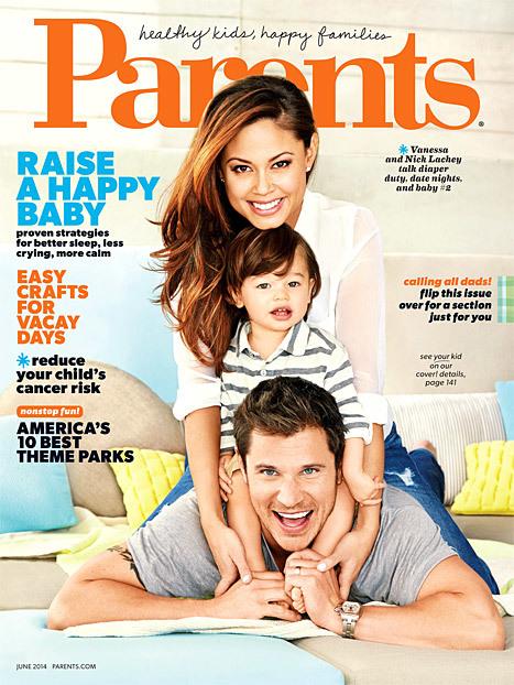 nick lachey son  parents magazine