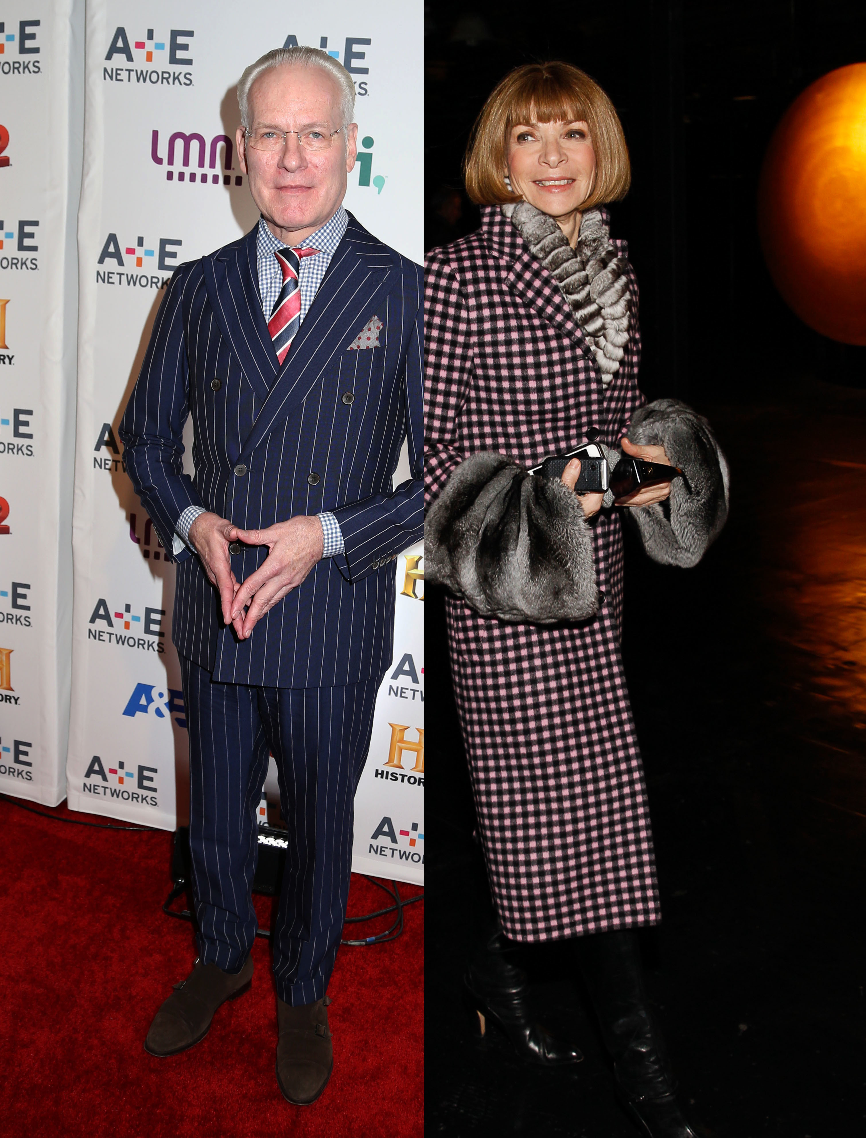 Tim Gunn vs Anna Wintour feud