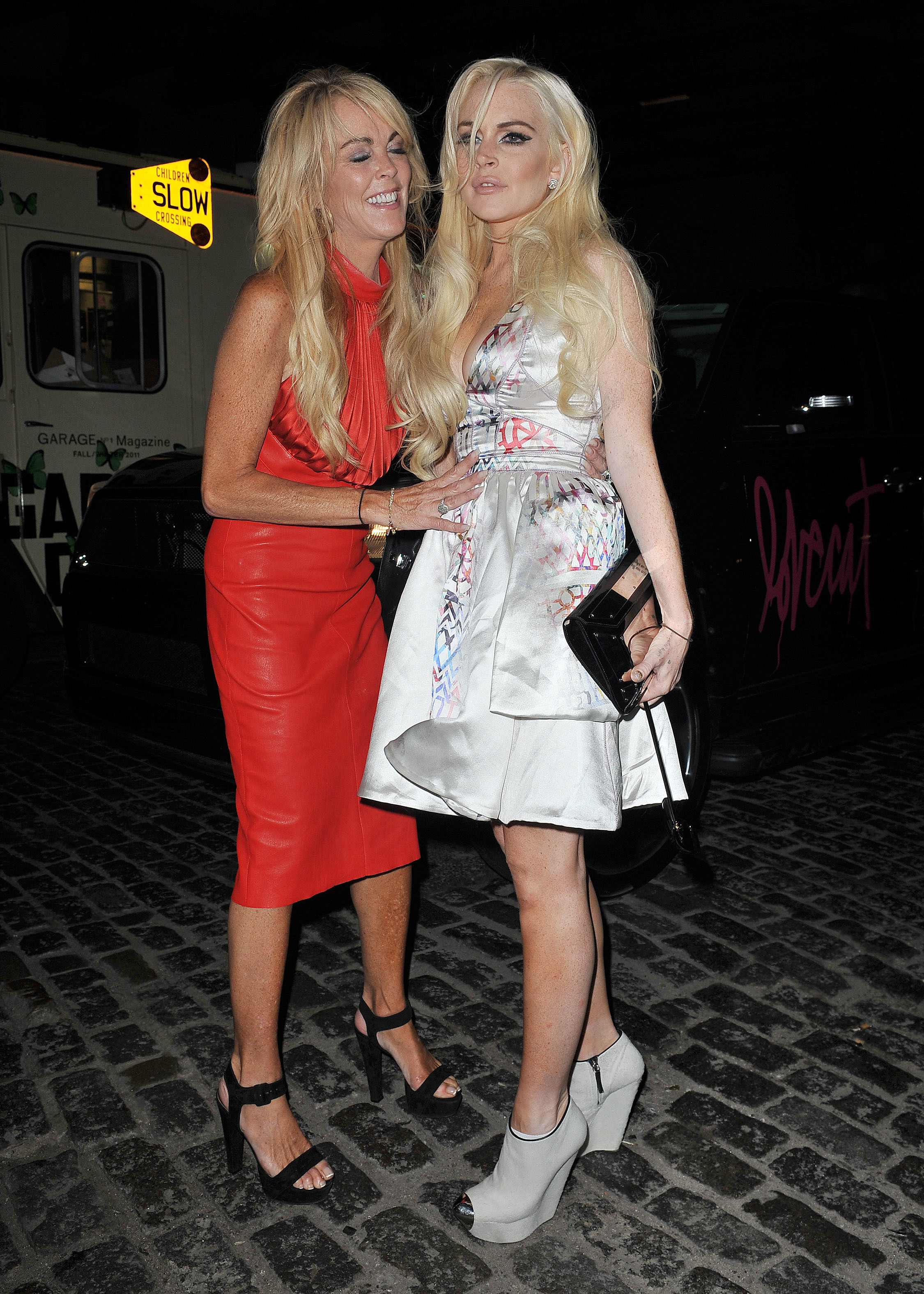 Is Lindsay Lohan 'done' with her mom?