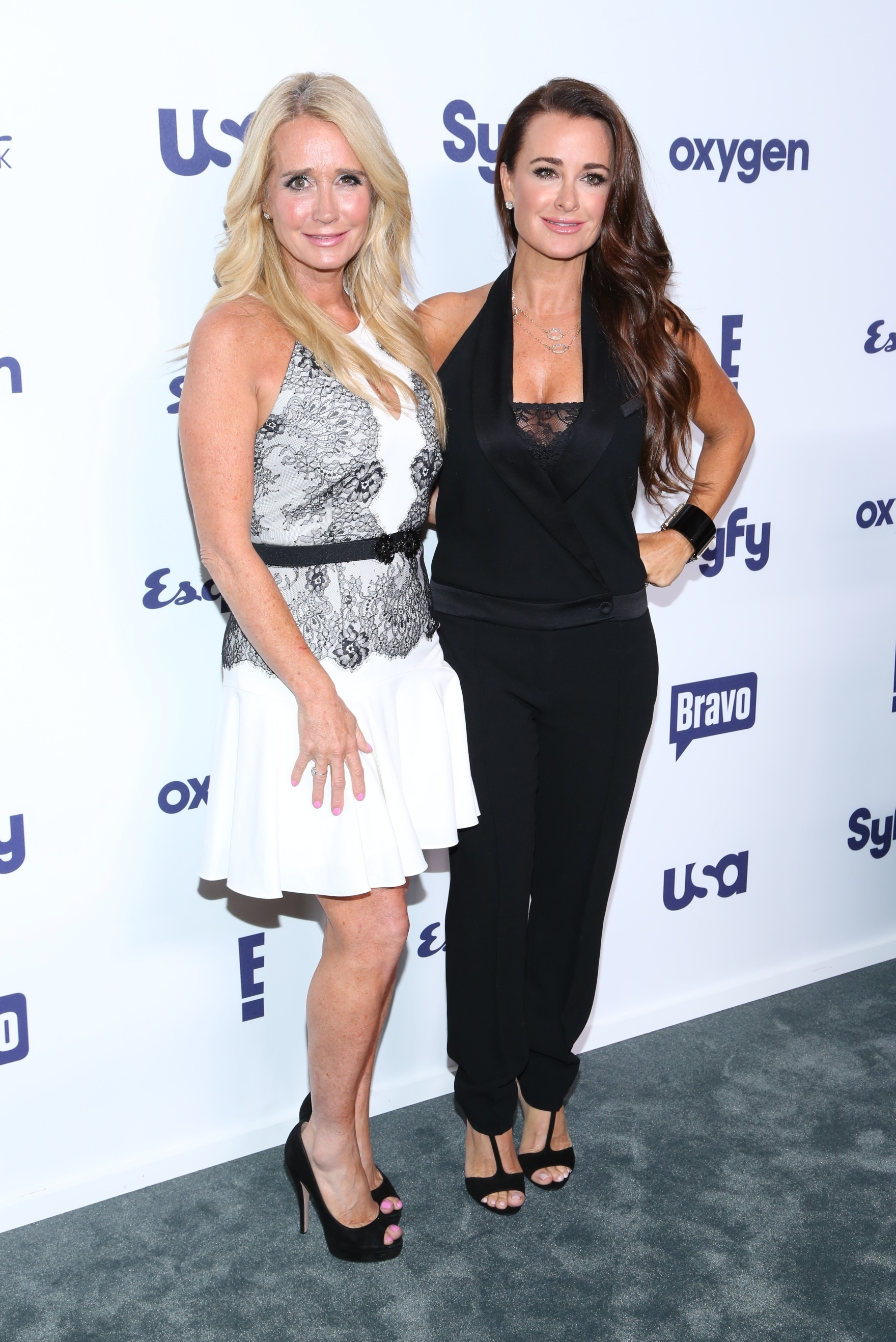 Kim and Kyle Richards