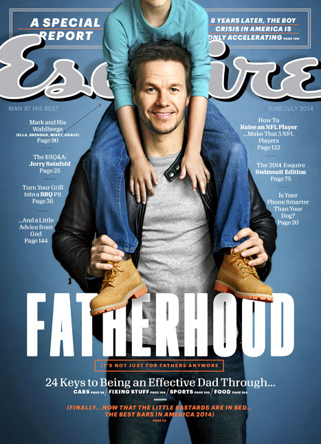 mark wahlberg cover esquire