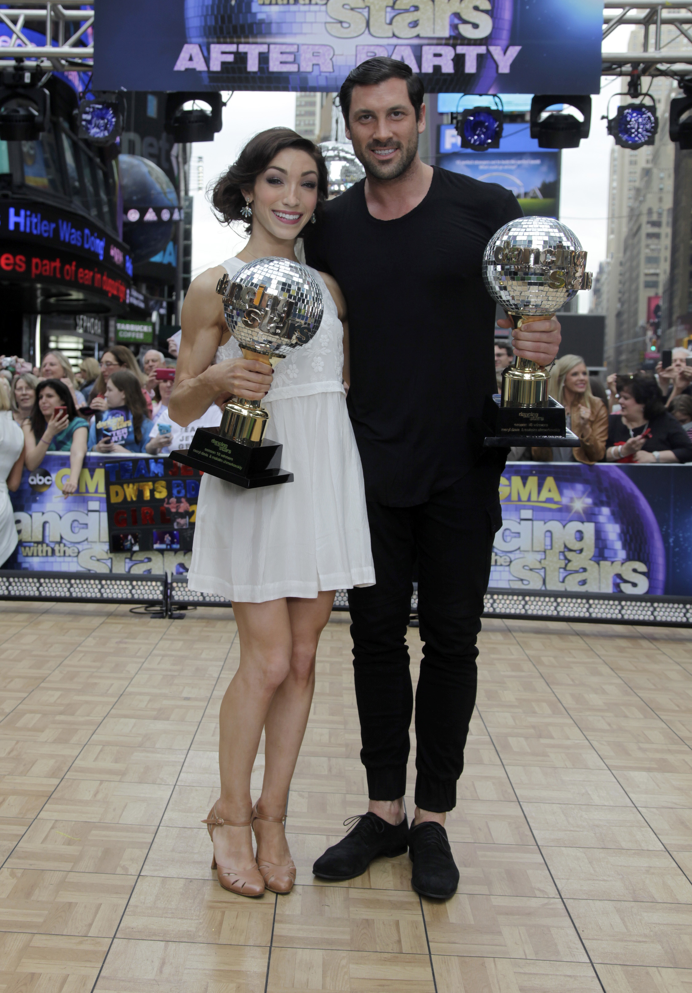 maksim meryl dancing with the stars win