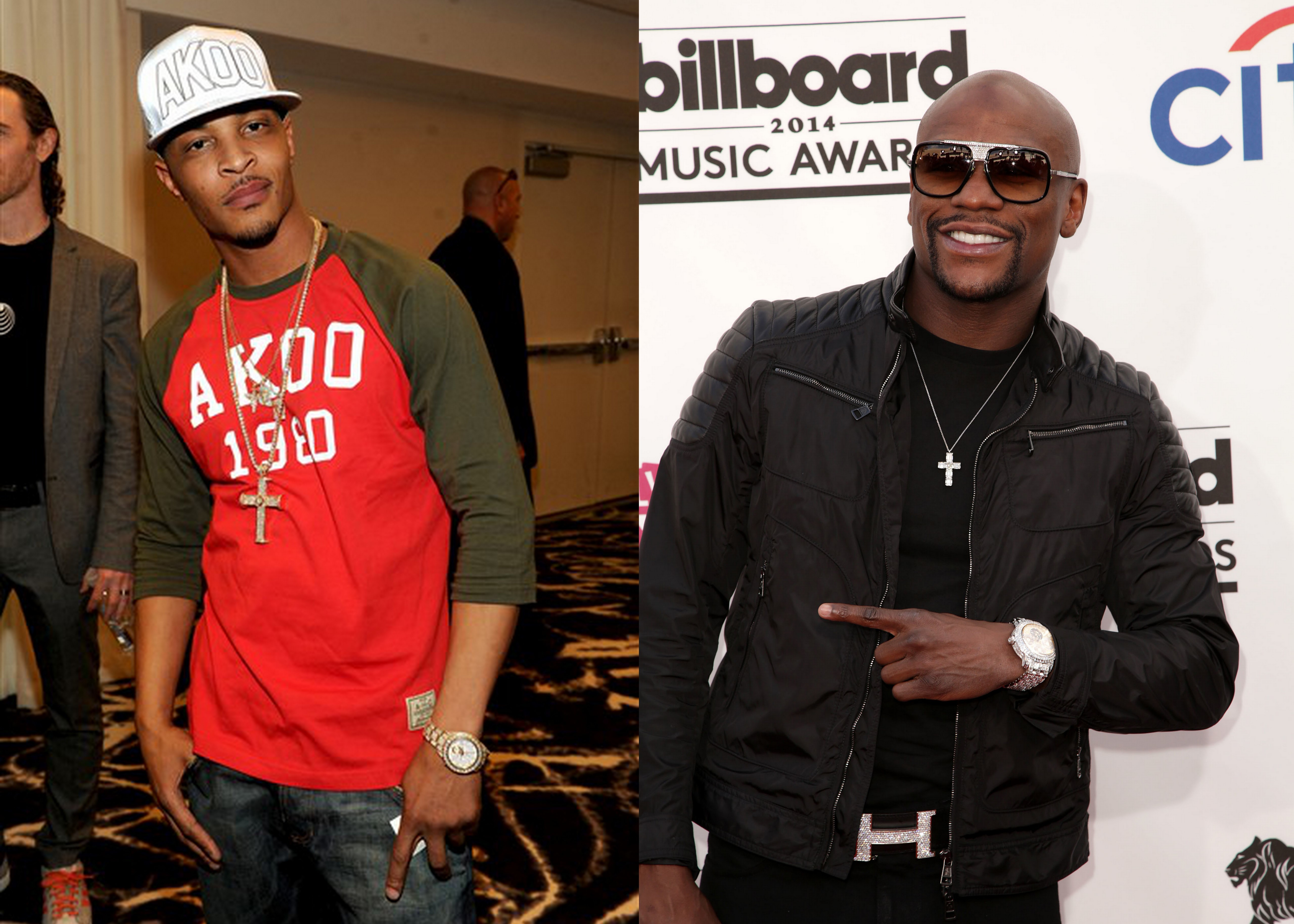 Floyd Mayweather, Jr. T.I. weekend brawl