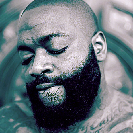 rick ross chin tattoo