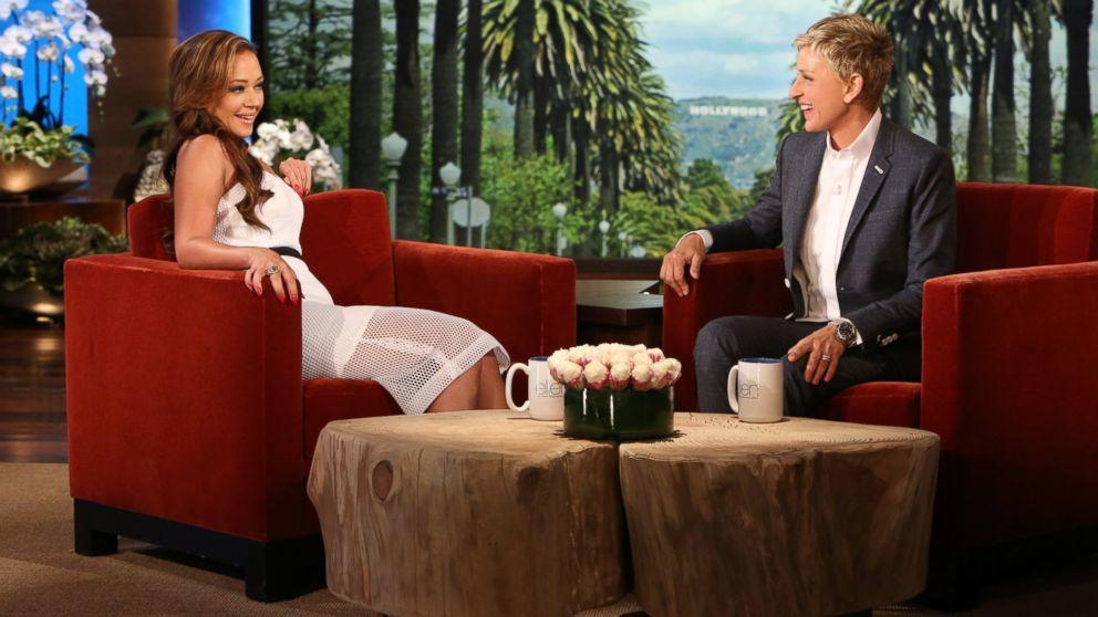 Leah Remini Ellen DeGeneres