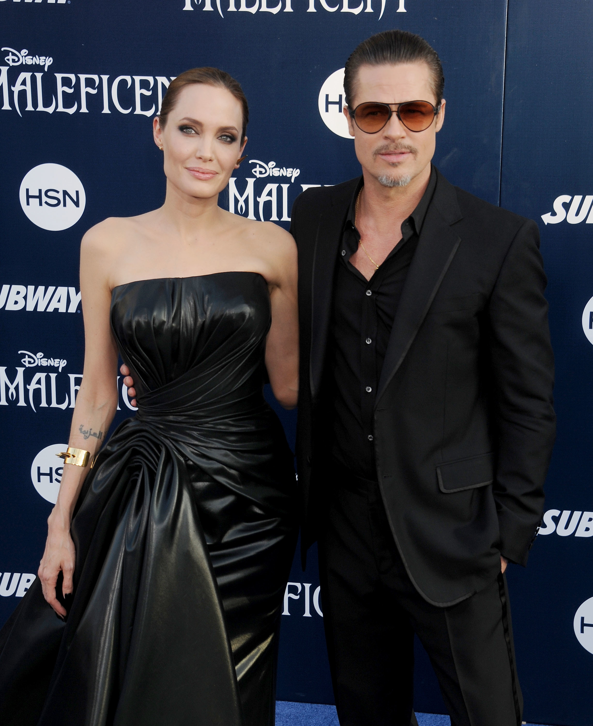 angelina jolie brad pitt malificent