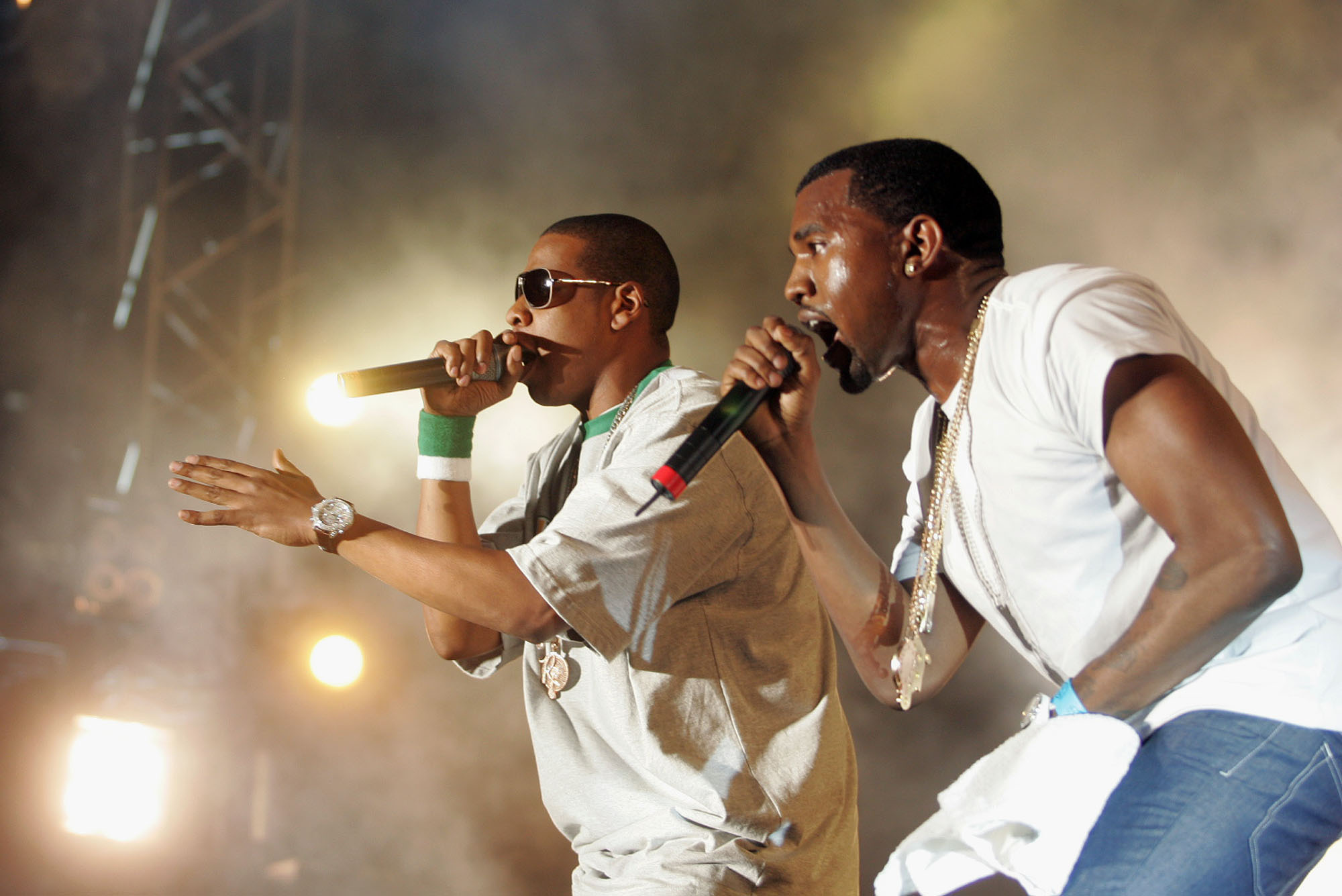 Bad blood between Kanye West and Jay Z?
