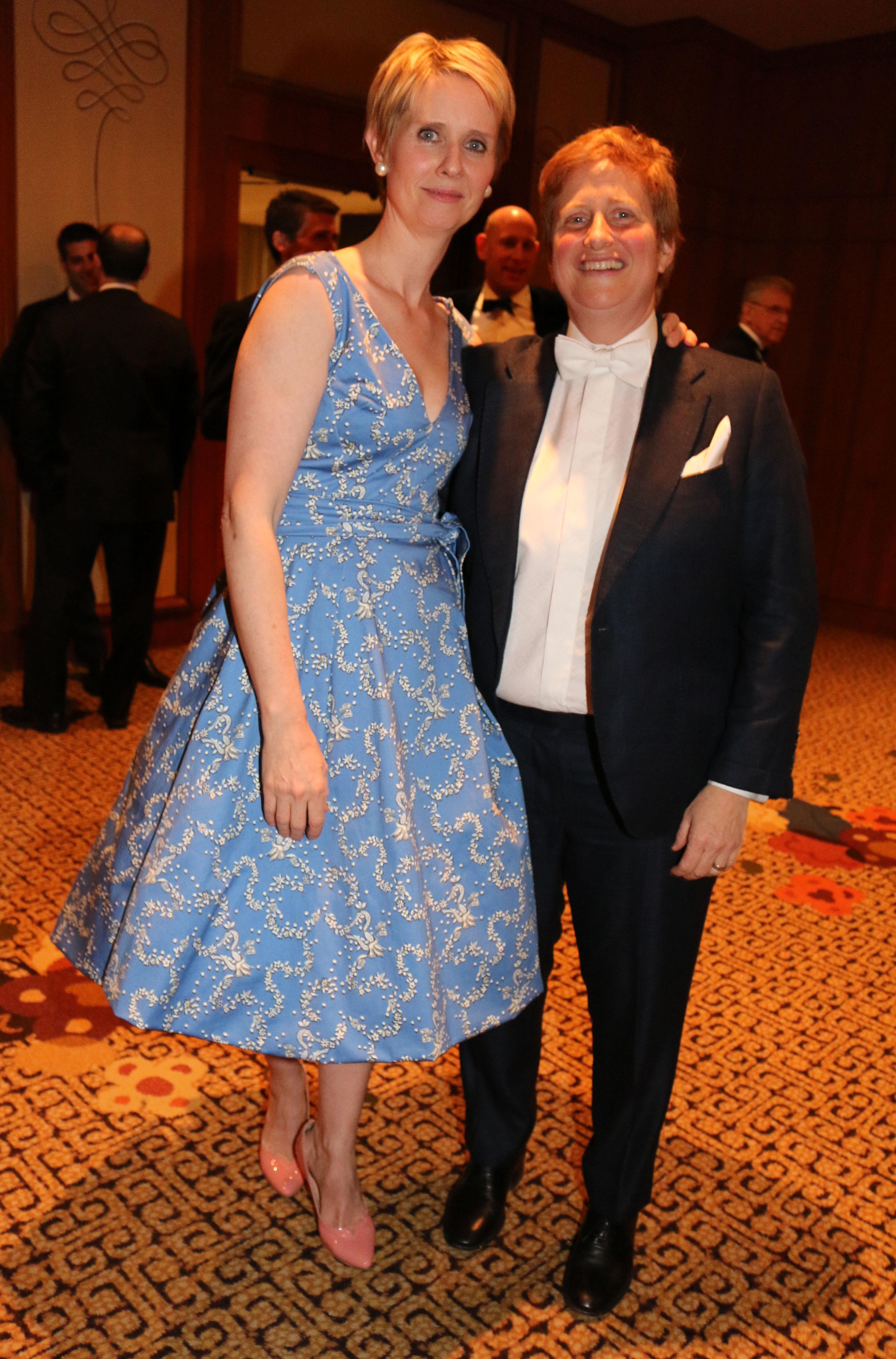 Cynthia Nixon Christina Marinoni Married Celebs Who