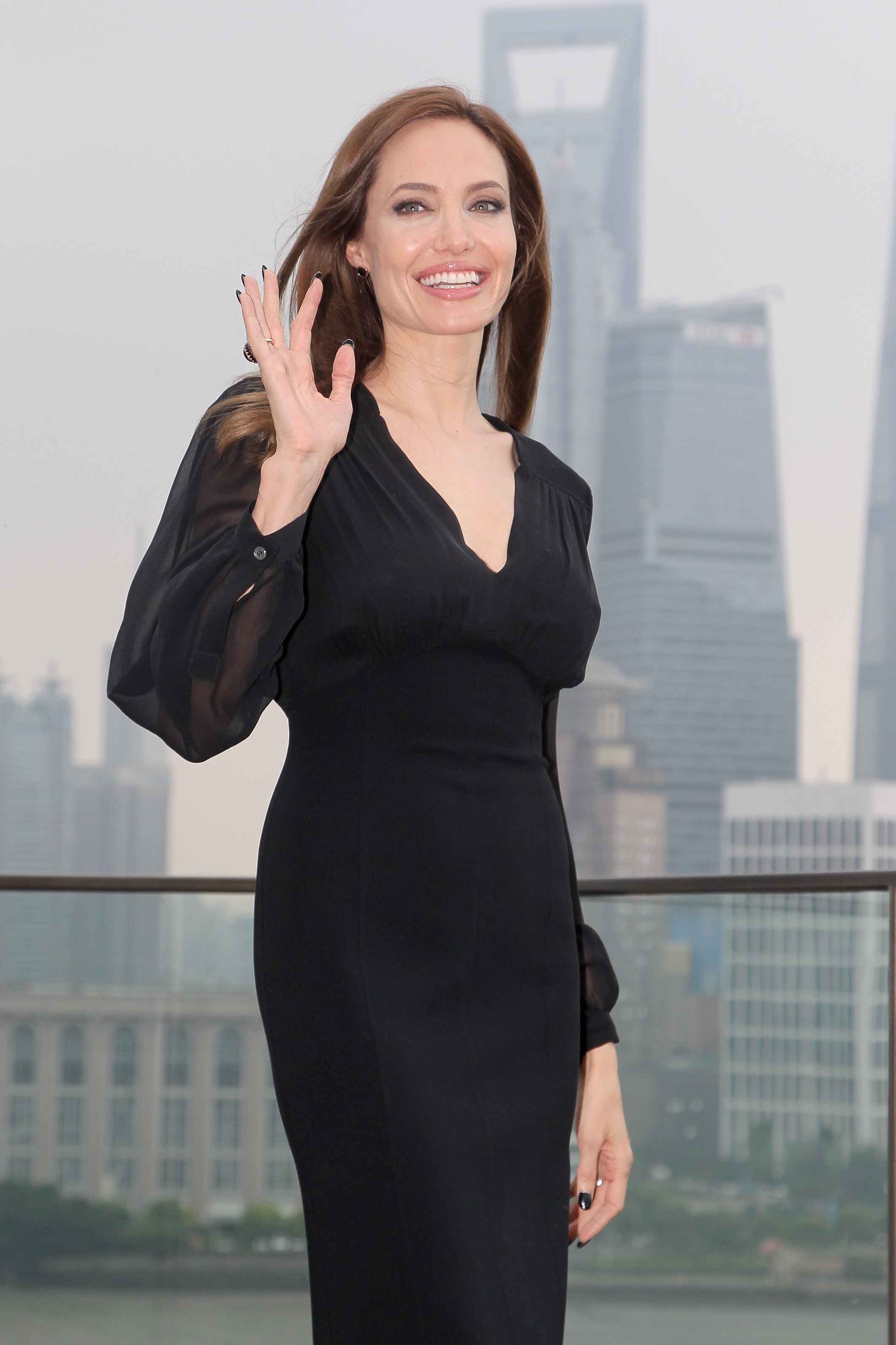 angelina Jolie shanghai