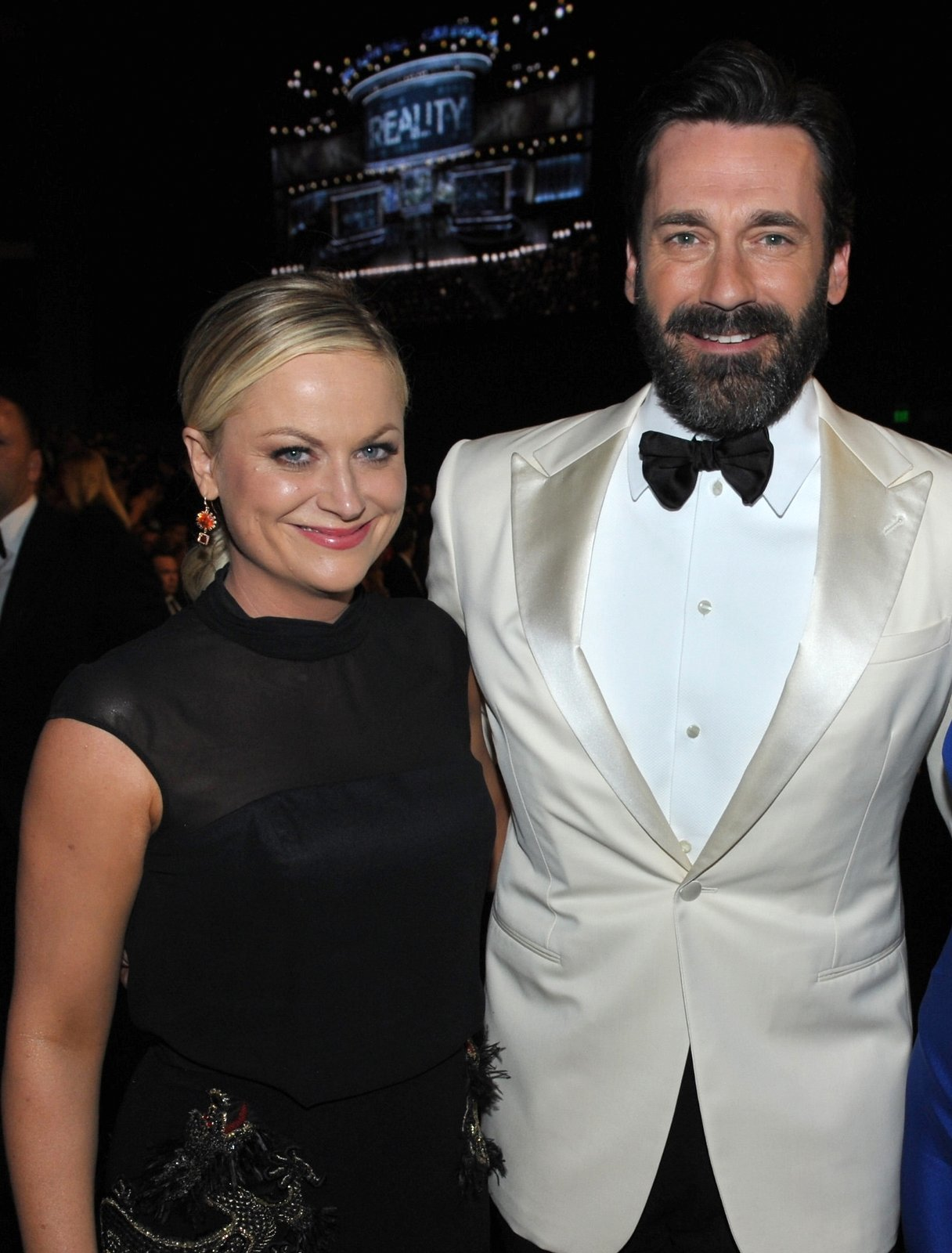 Amy Poehler and Jon Hamm
