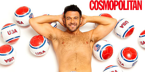 Adam Richman naked Cosmo