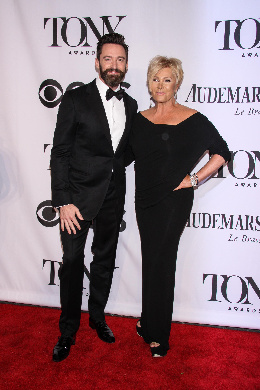 Hugh Jackman wife Tonys 2014