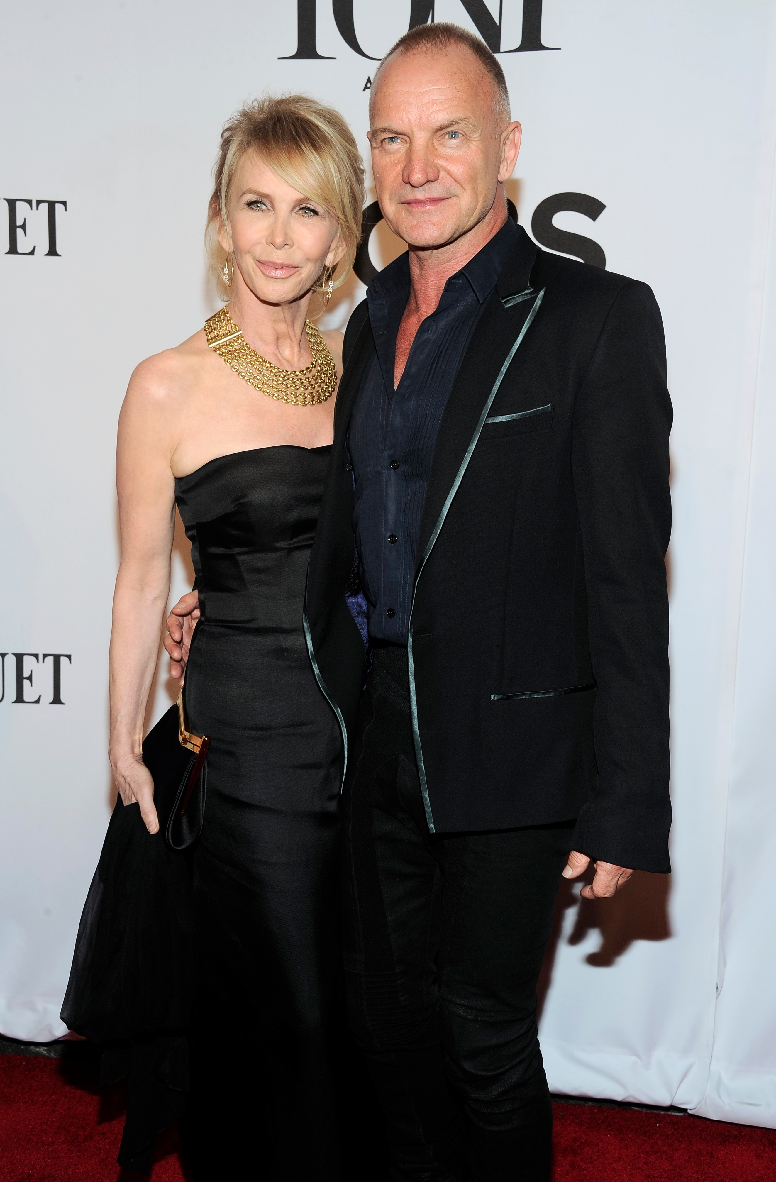 Sting credits Trudie Styler with his success