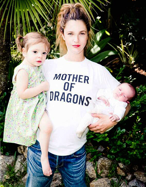drew barrymore daughter charity