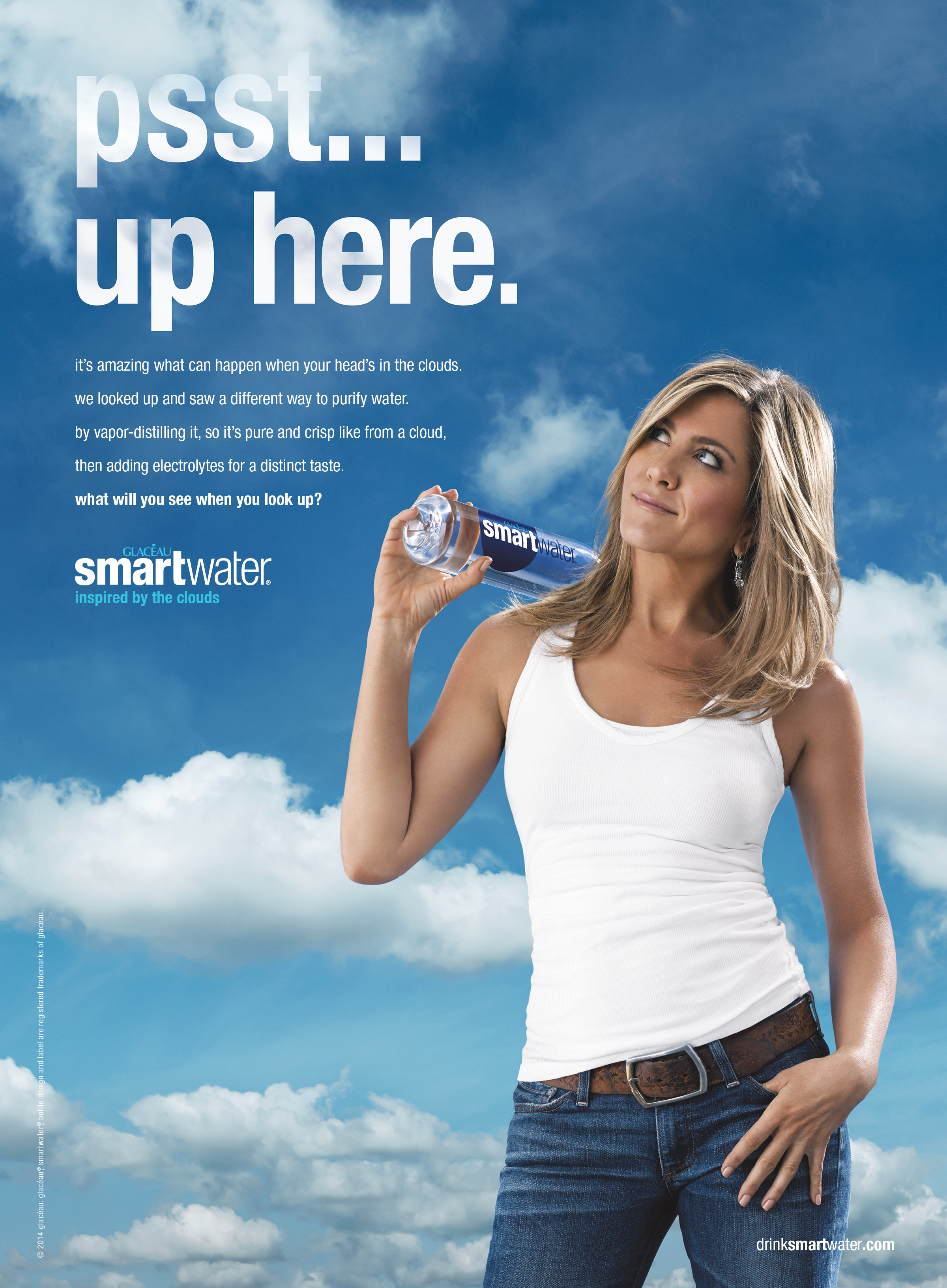 jennifer aniston smartwater