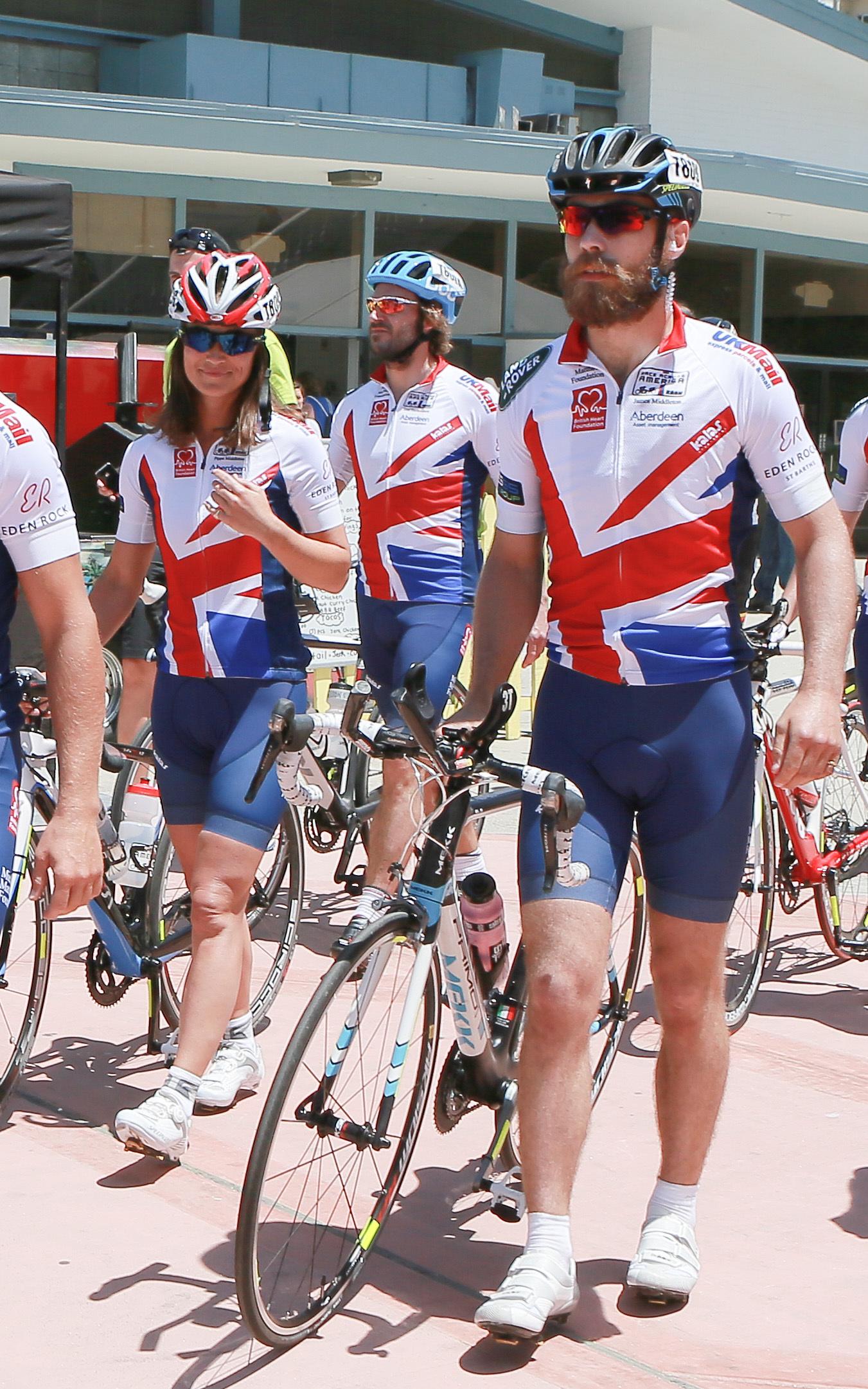 Pippa Middleton James bike
