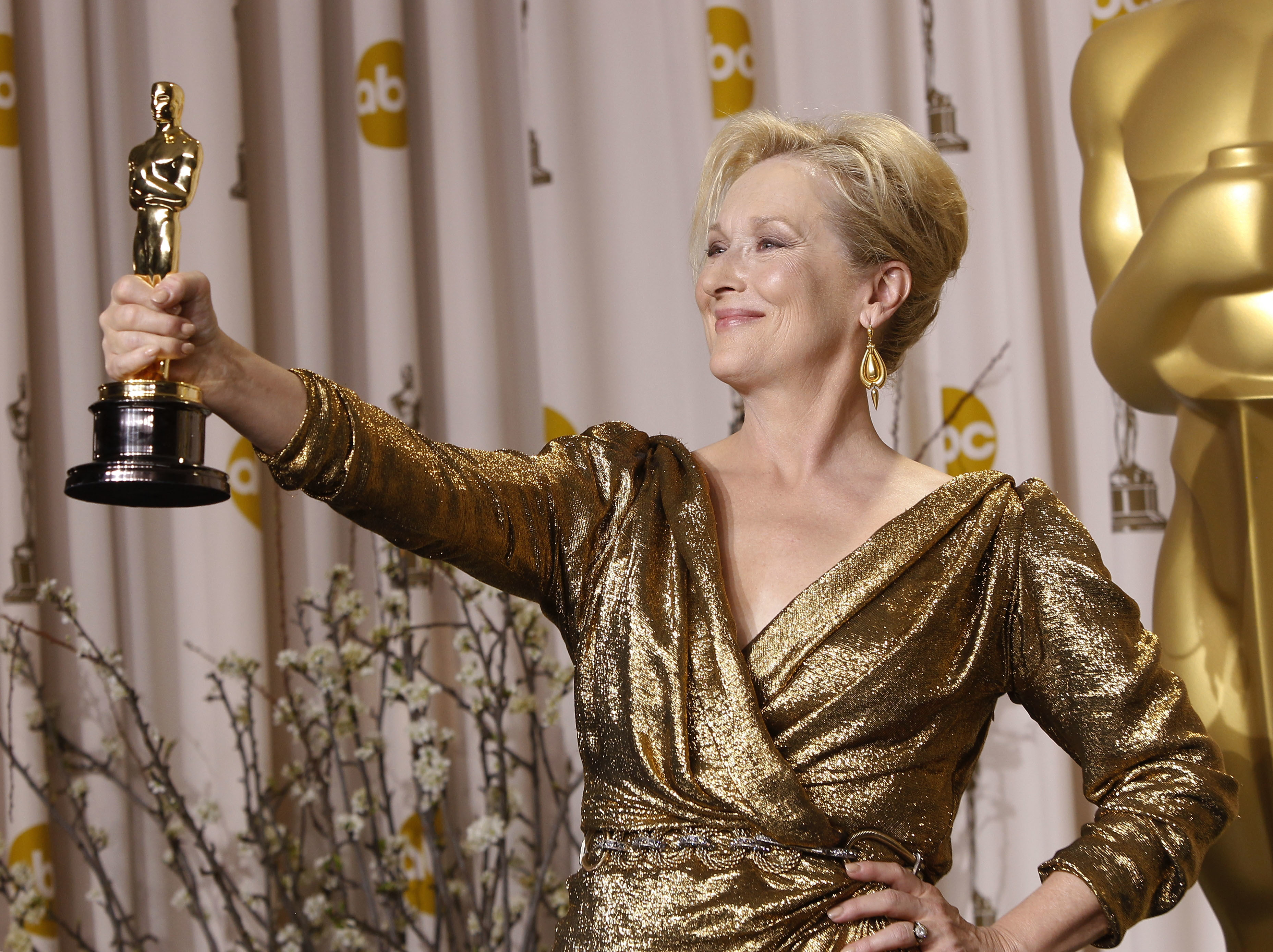 No. 13: She's been nominated for more Oscars than any other actor