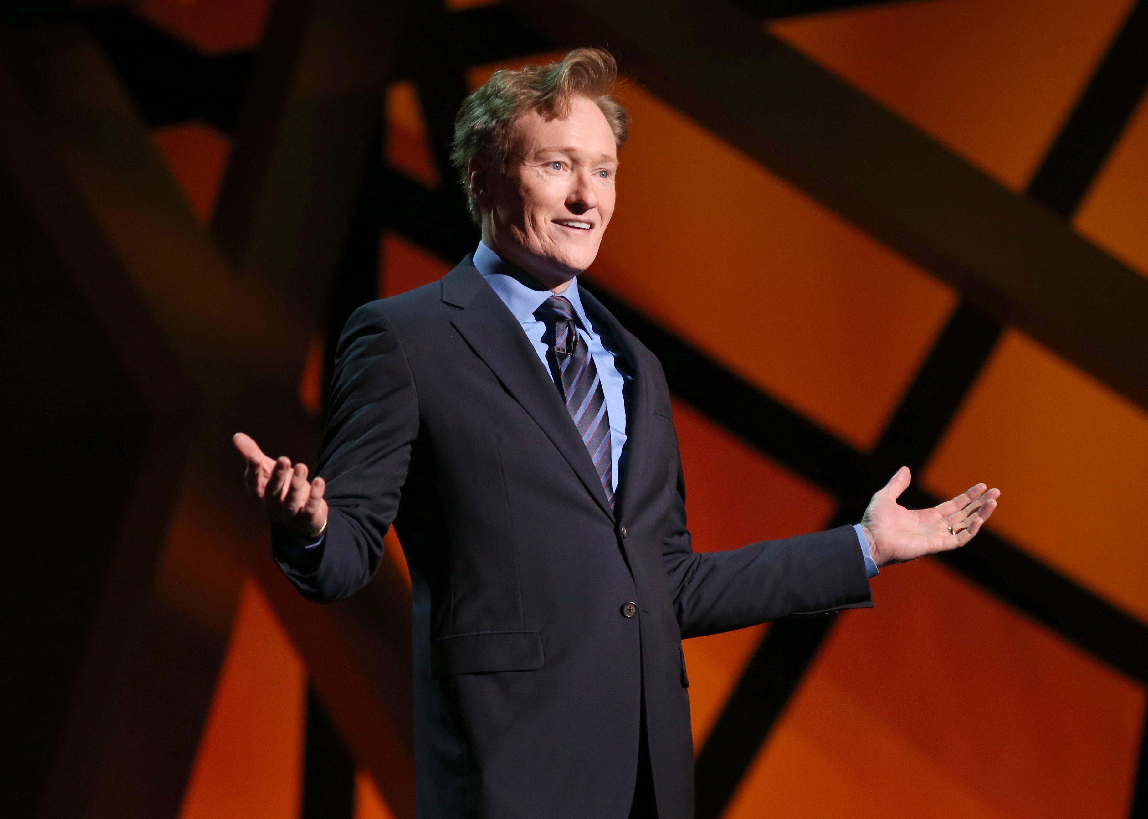 Conan O'Brien paid taxes