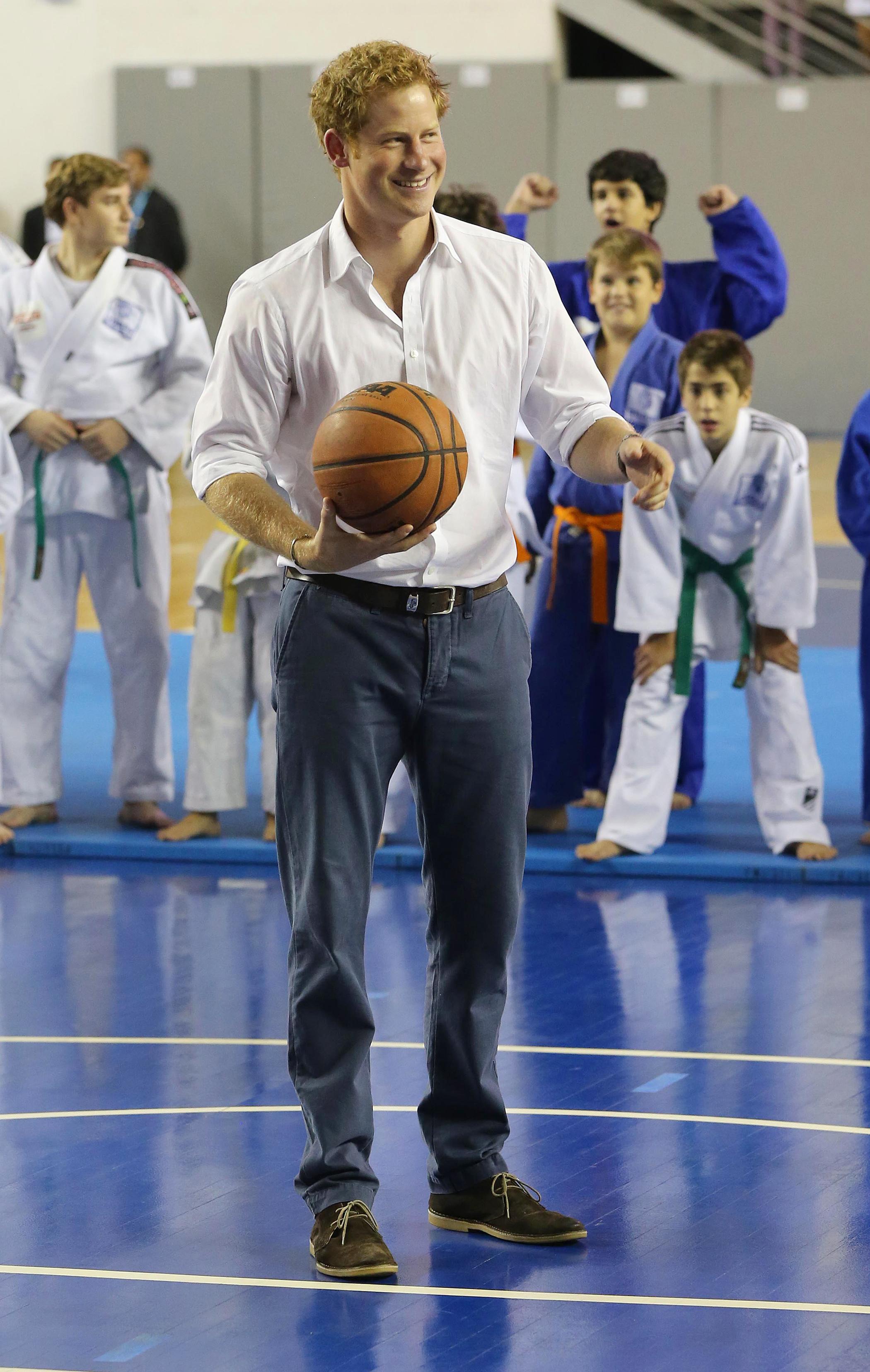 prince harry brazil