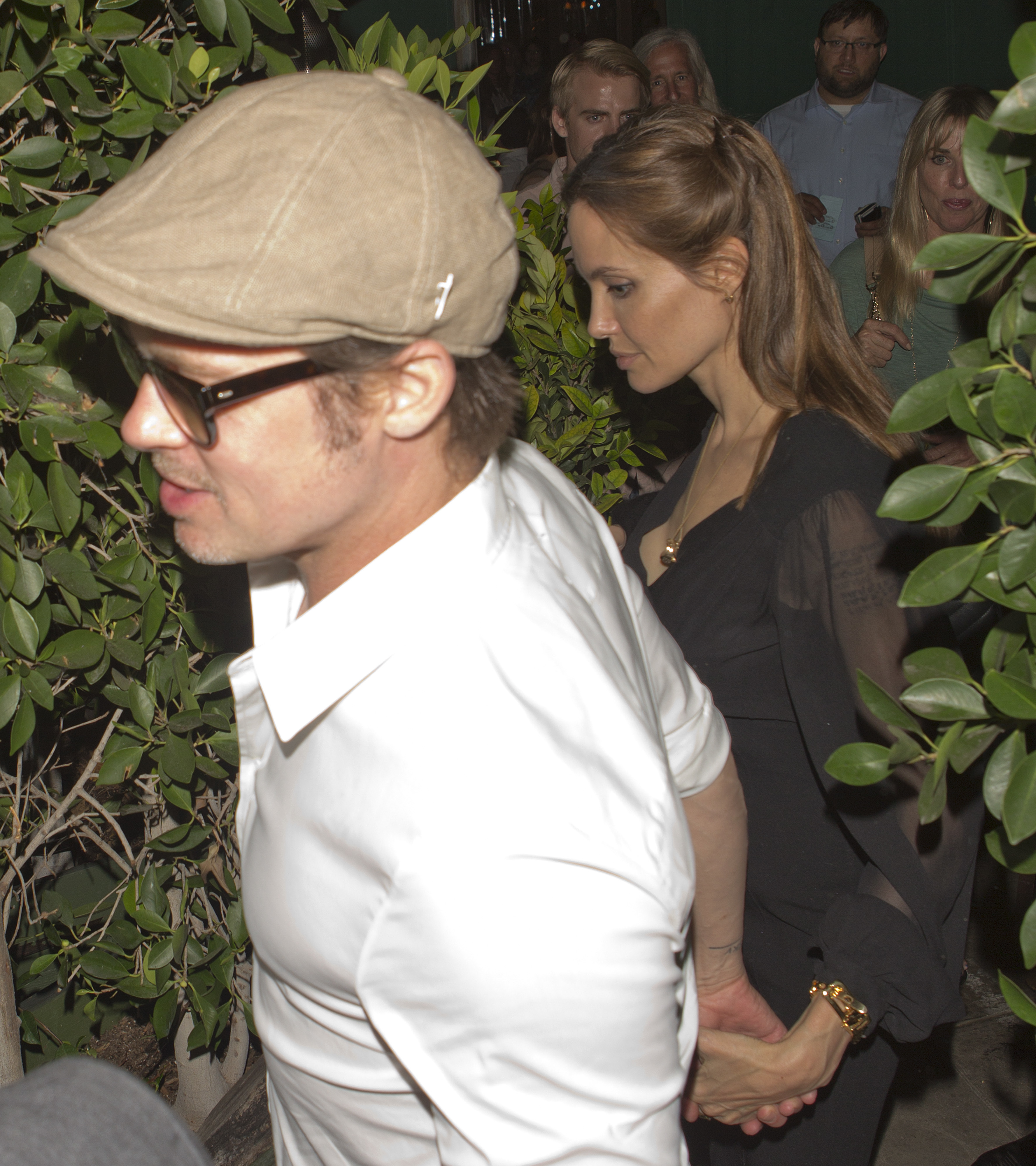 Brad Pitt Angelina Jolie date night Ago