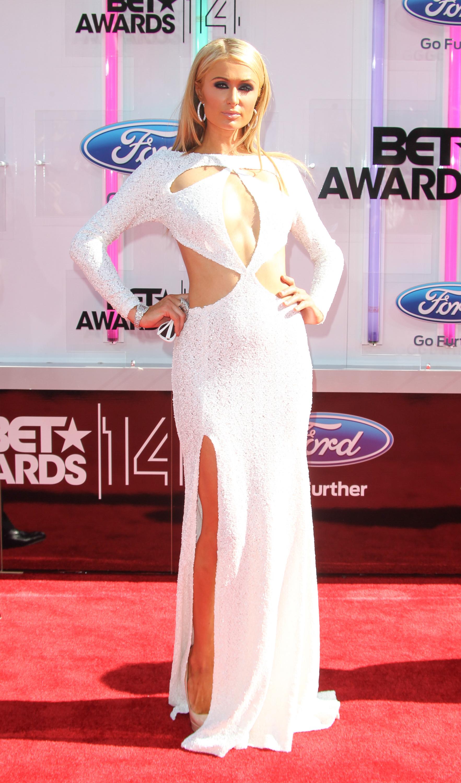 Paris Hilton cutouts