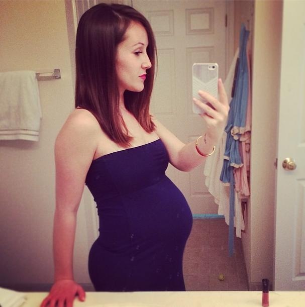 ashley hebert rosenbaum instagram baby bump