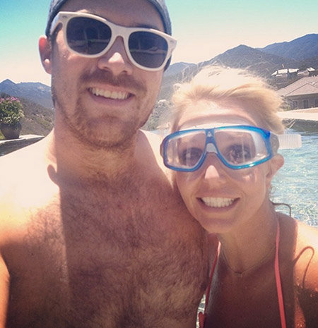 Britney Spears David Lucado beach