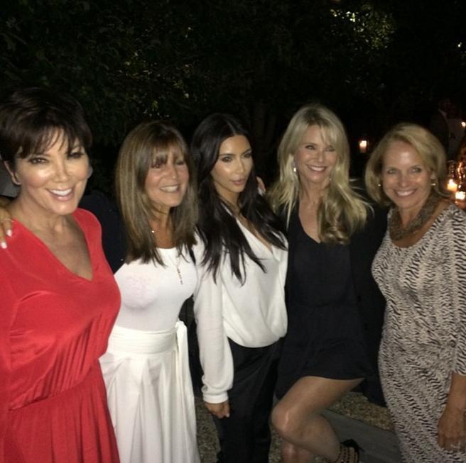 Kim Kardashian Katie Couric