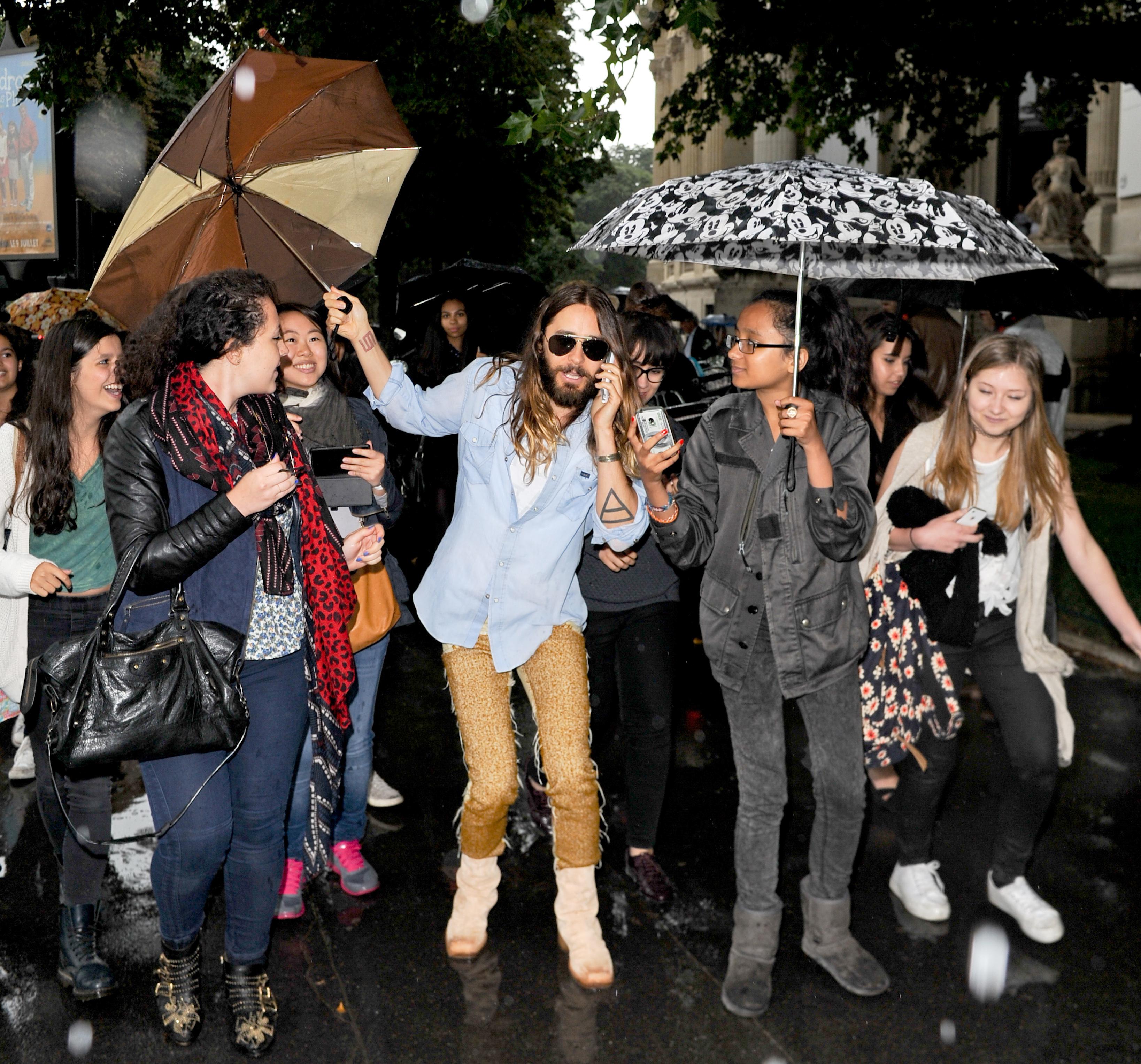 jared leto umbrella