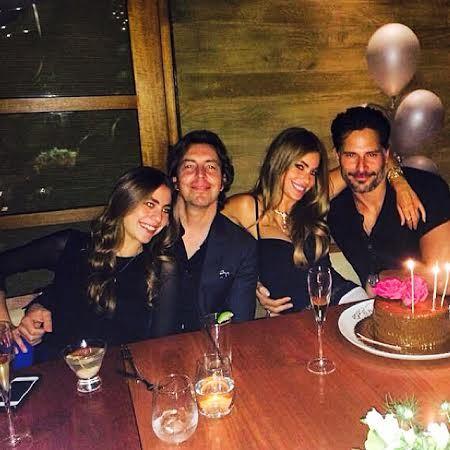 Sofia Vergara Joe Manganiello birthday