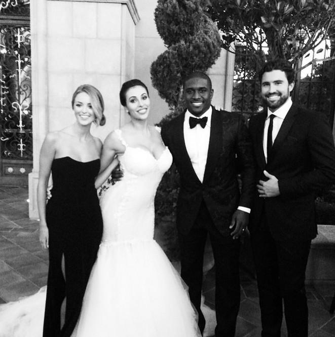 Reggie Bush wedding Lilit