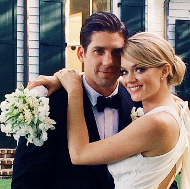 Lindsay Ellingson wedding