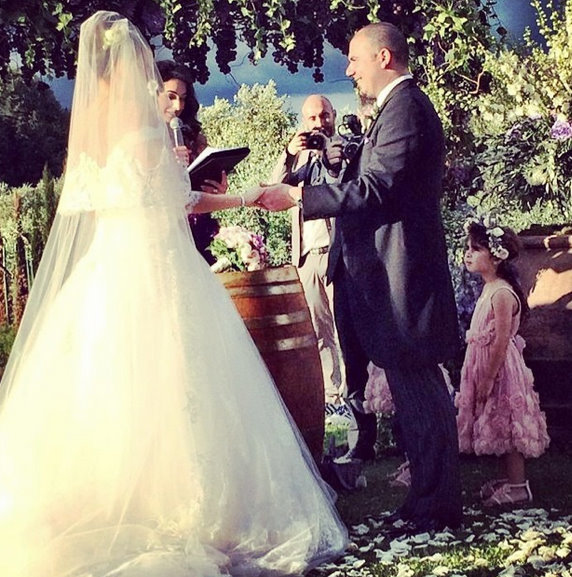 Amal Alamuddin wedding officiant