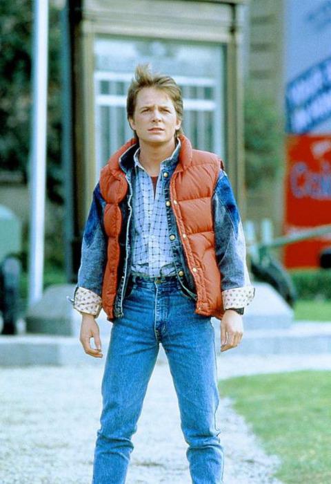 Michael J Fox Back to the Future