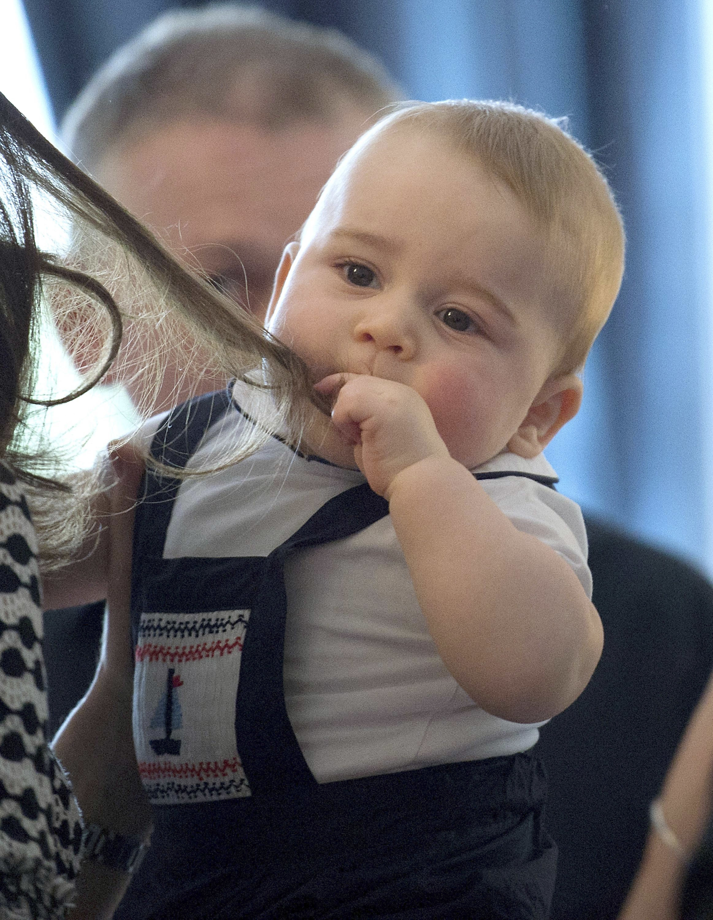 Prince George is one of British GQ's best dressed men of the year