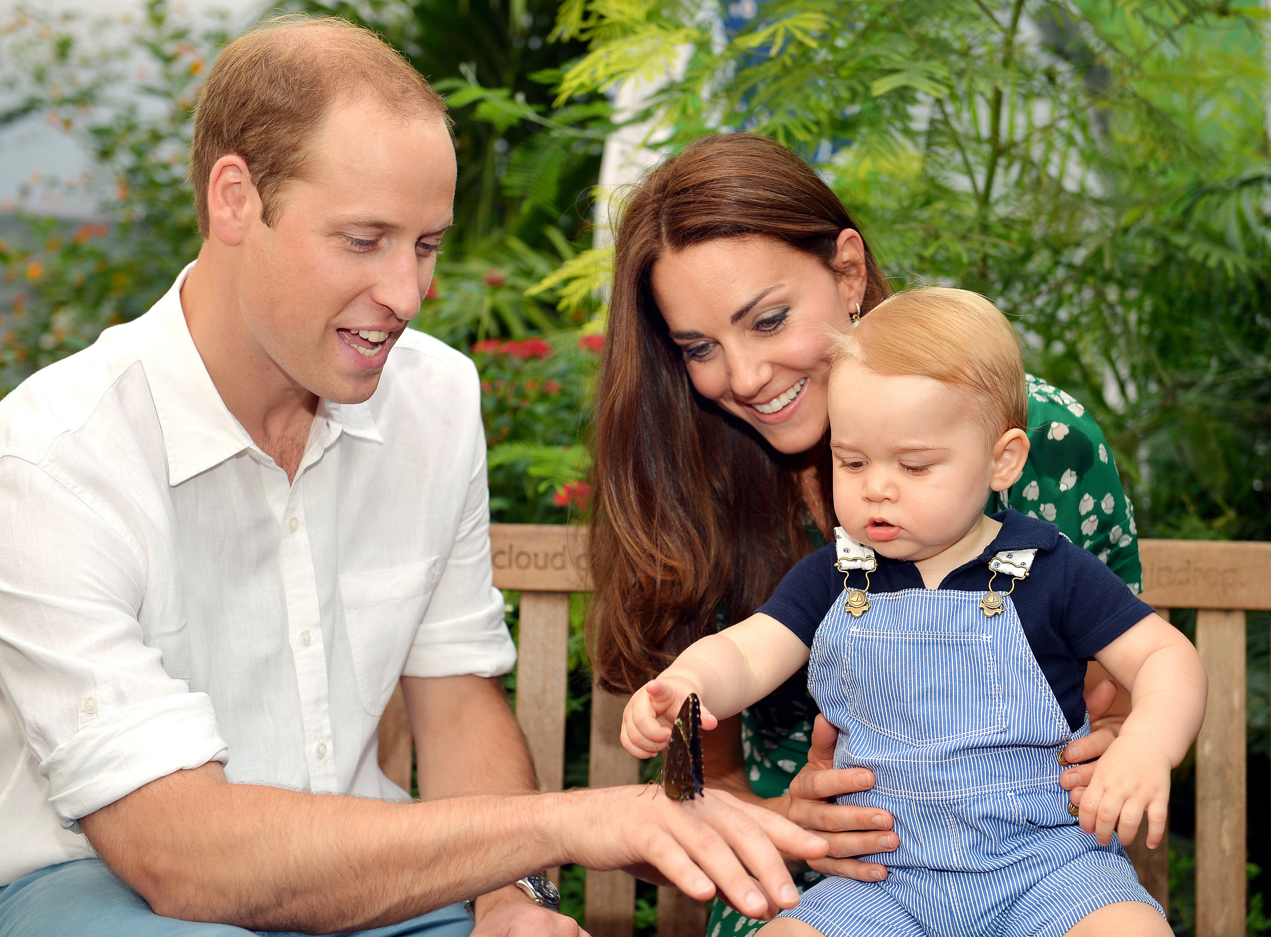 Prince William, Duchess Kate, and Prince George