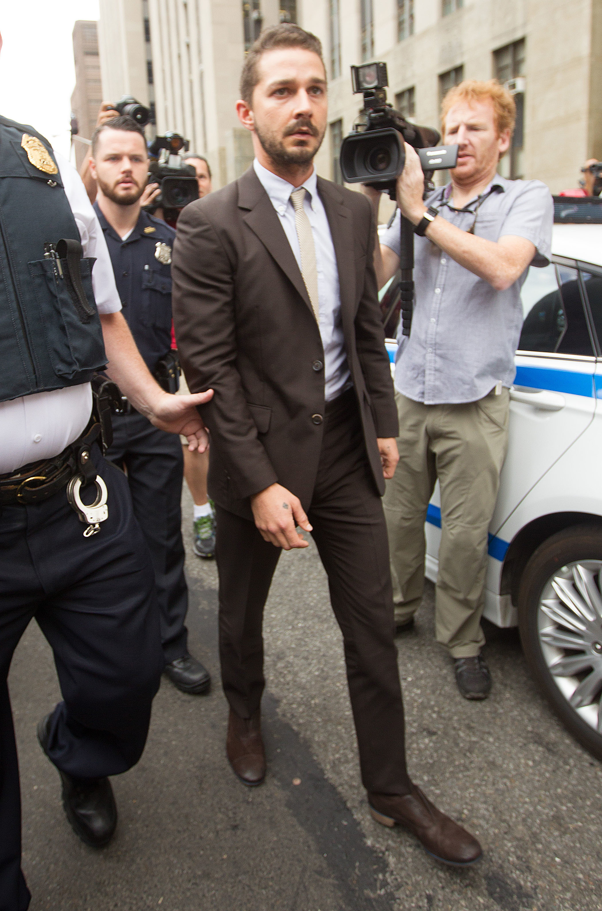 Shia LeBeouf New York