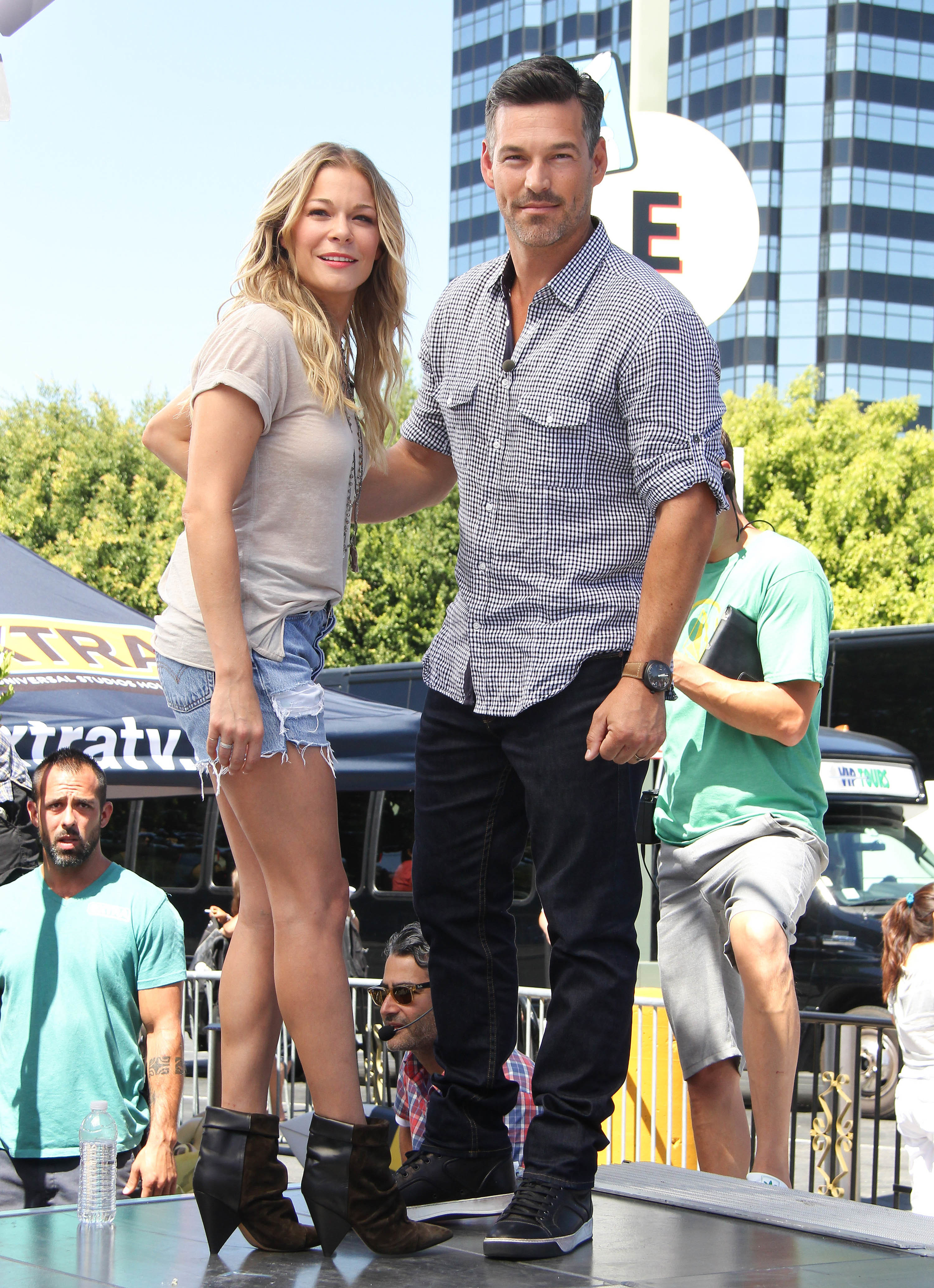 Eddie Cibrian   'Brandi is lying' about LeAnn Rimes and the kids' pics