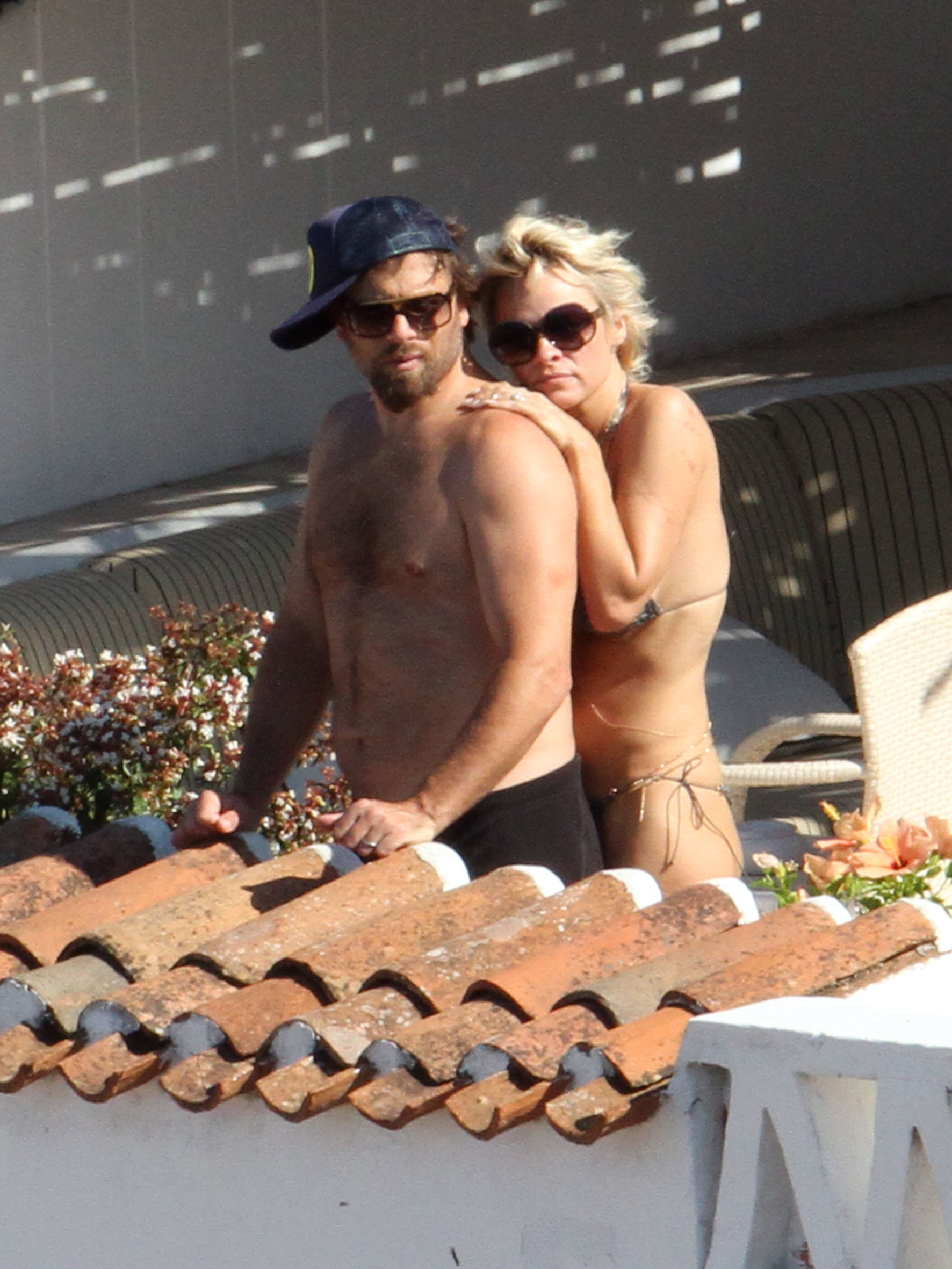 Pam Anderson RIck Salomon Vacation