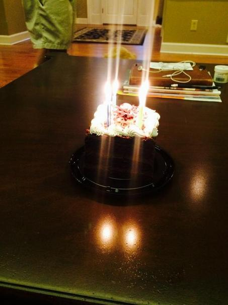 Bobbi Kristina Brown cake Whitney birthday